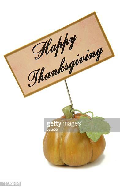 Holiday: Thanksgiving Little Pumpkin 2 with sign