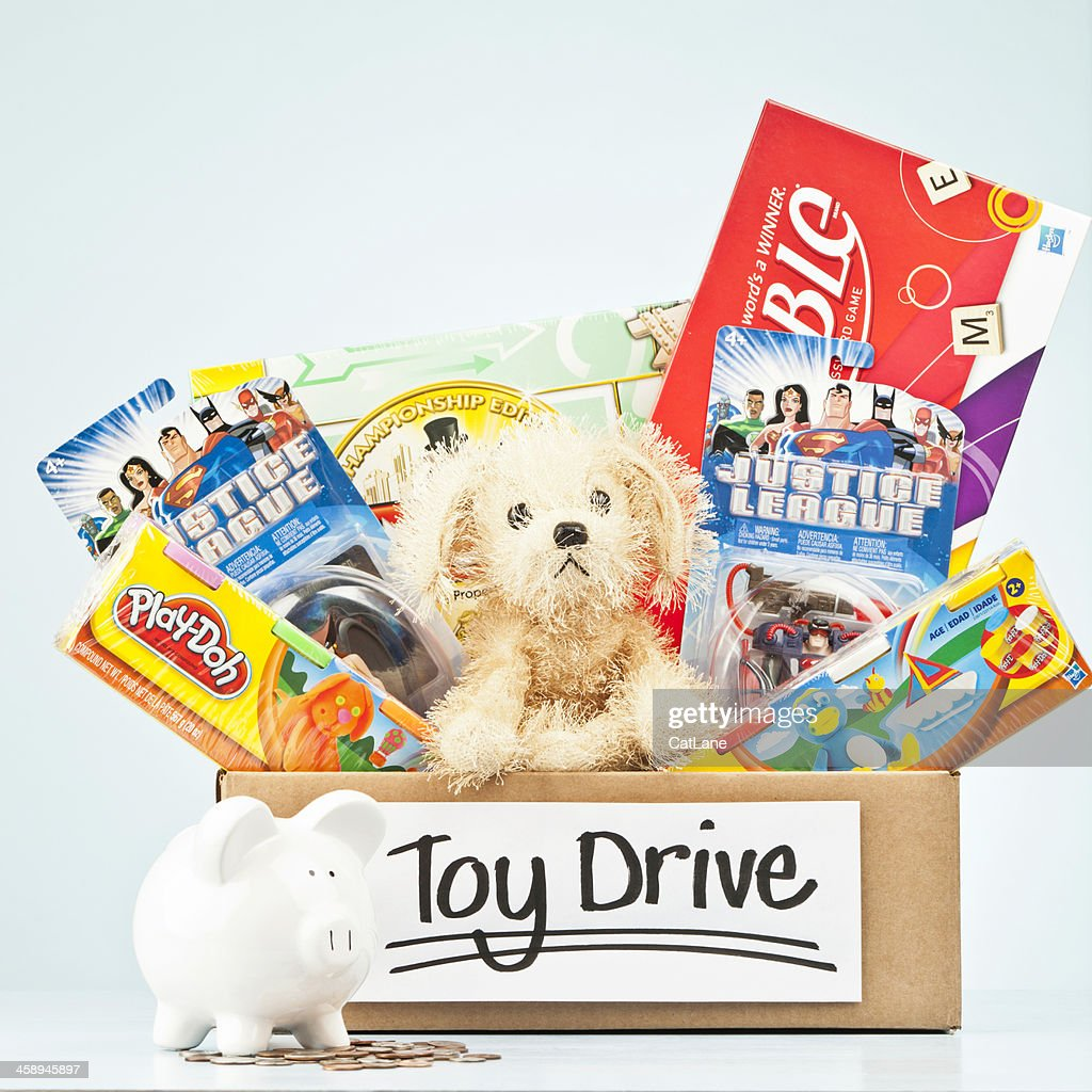 Holiday Toy Drive : Stock Photo