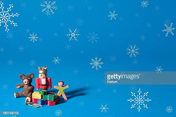 Holiday Toys w/ Snowflakes