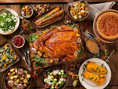 Holiday Turkey Dinner 836012728