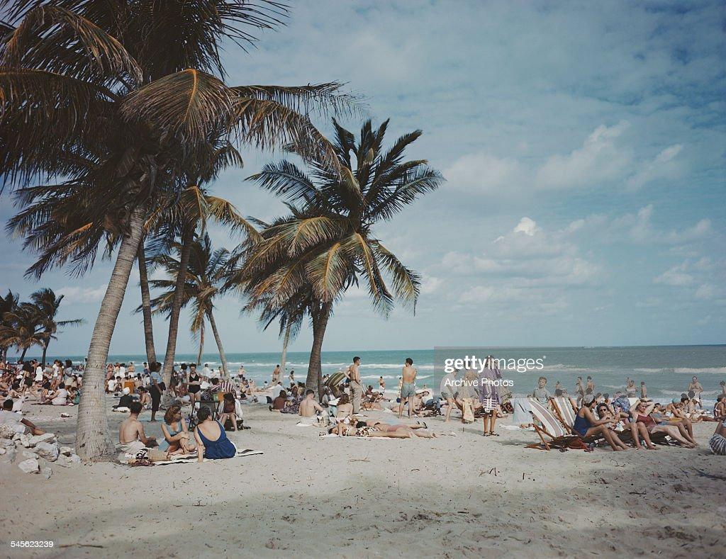 Miami Beach : News Photo