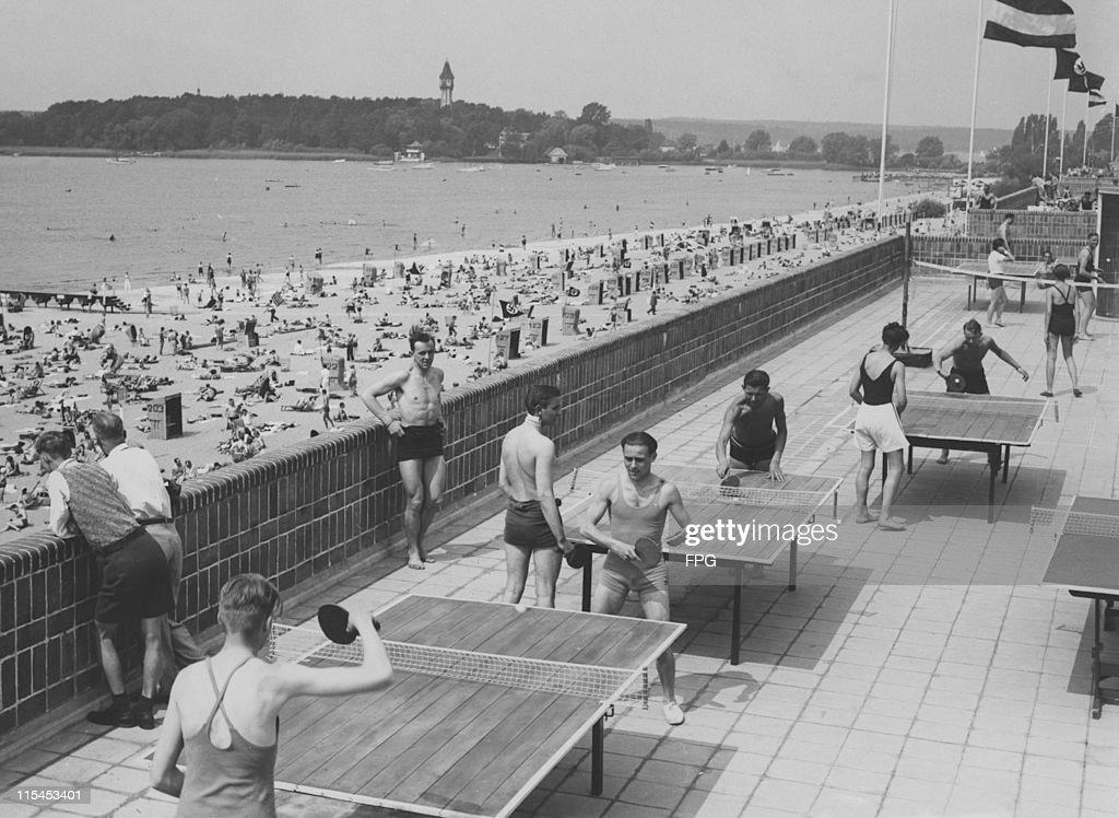 Freibad Wannsee : News Photo