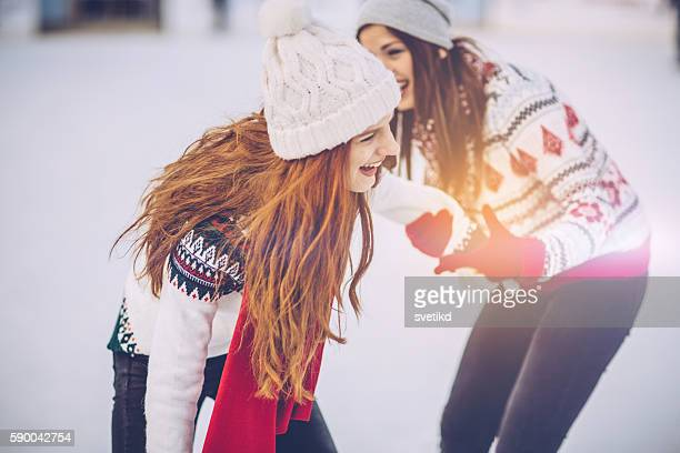 Holidays are for fun with bestie
