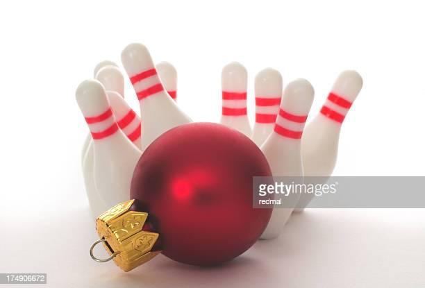 Feiertagen bowling- strike