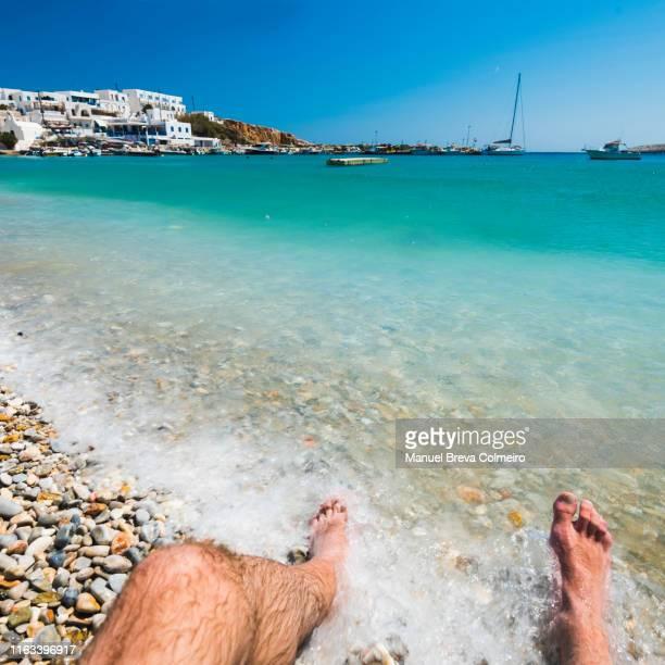 holidays in greece - culebrilla enfermedad fotografías e imágenes de stock