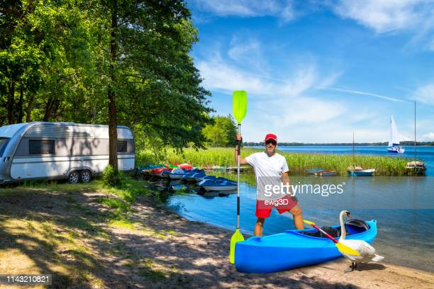 Holidays in summer at the lake