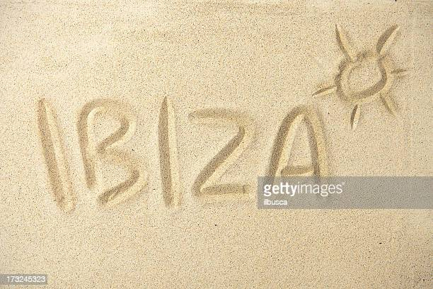 Holidays location sand series: Ibiza