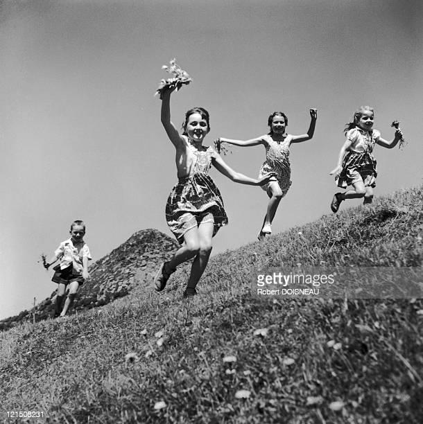 Holidays Near Joyeuse Ardeche August 1953