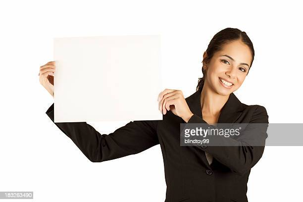 holing sign to the side - mexican poster stock photos and pictures