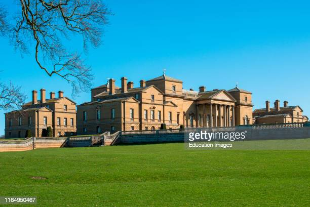 Holkham hall Stately home in North Norfolk East Anglia England UK