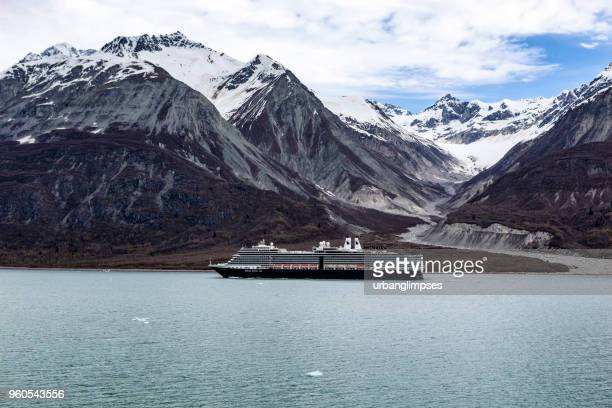 Holland America Line's Nieuw Amsterdam Cruise Ship in Glacier Bay NP
