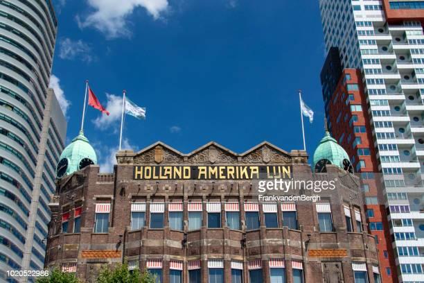 holland amerika lijn - rotterdam stockfoto's en -beelden