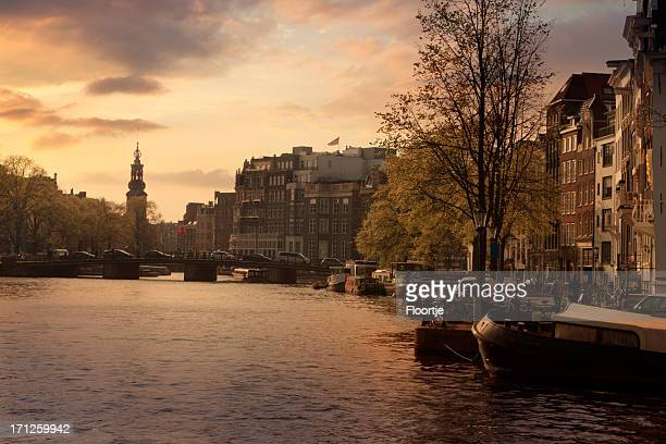 Holland: Amsterdam - Amstel River and Munt