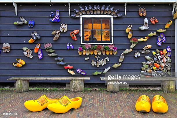 holland clog - dutch culture stock pictures, royalty-free photos & images