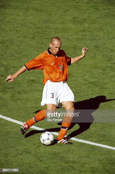 Holland defender Jaap Stam in action during the 1998 FIFA World Cup match against Aargentina on 4th July 1998 in Marseille France
