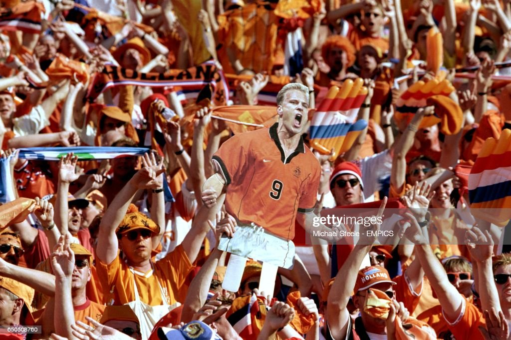 Soccer - World Cup France 98 - Quarter Final - Holland v Argentina : Nieuwsfoto's