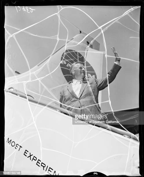 Holland official 8 July 1961 Chris G Matser Supplementary material reads 'News Bureau Pan American World Airways Spring 62561 Photo with raw neg One...