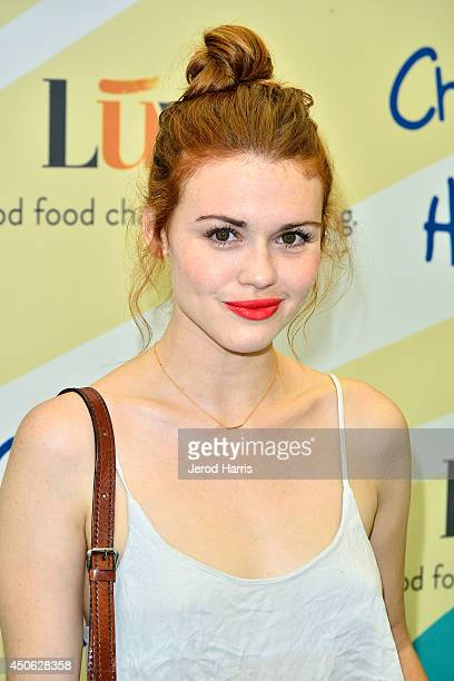 Holland Roden arrives at Children Mending Hearts' 6th Annual Fundraiser 'Empathy Rocks A Spring Into Summer Bash' on June 14 2014 in Beverly Hills...