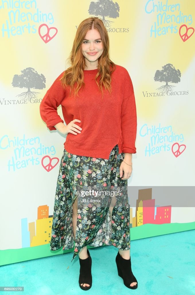Holland Roden attends the Children Mending Hearts 9th Annual Empathy Rocks Fundraiser on June 11, 2017 in Beverly Hills, California.