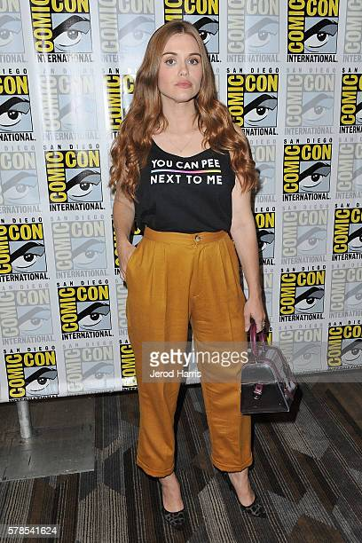Holland Roden attends the press line for 'Teen Wolf' on July 21 2016 in San Diego California