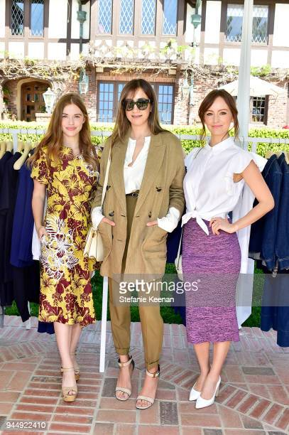 Holland Roden Mandana Dayani and Ahna O'Reilly attend Stella McCartney HEART Brunch 2018 at Private Residence on April 11 2018 in Los Angeles...