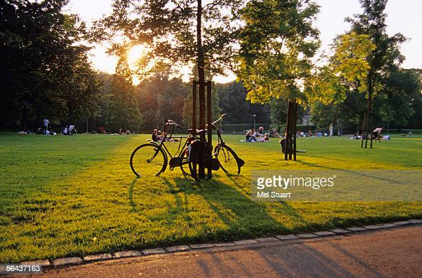 Holland, Rotterdam, Park