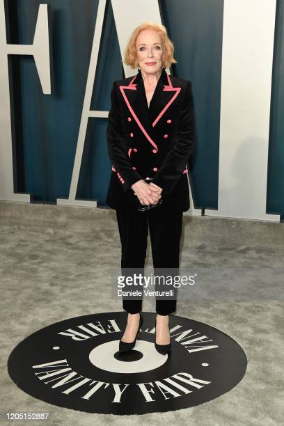 Holland Taylor attends 2020 Vanity Fair Oscar Party Hosted By Radhika Jones at Wallis Annenberg Center for the Performing Arts on February 09 2020 in...