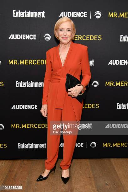 Holland Taylor attends a first look screening of Mr Mercedes Season 2 hosted by Entertainment Weekly and Audience Network at the Crosby Street Hotel...