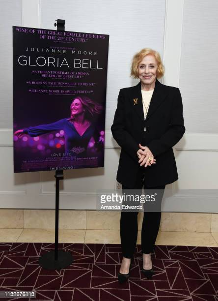 Holland Taylor attends a special screening of A24's Gloria Bell at The London West Hollywood on February 27 2019 in West Hollywood California