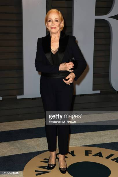 Holland Taylor attends the 2018 Vanity Fair Oscar Party hosted by Radhika Jones at Wallis Annenberg Center for the Performing Arts on March 4, 2018...
