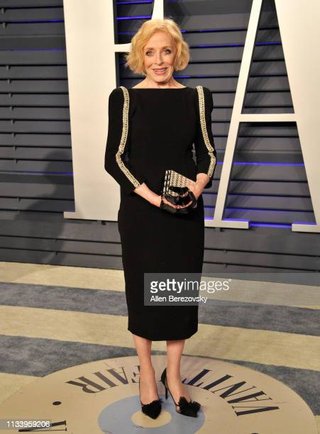 Holland Taylor attends the 2019 Vanity Fair Oscar Party hosted by Radhika Jones at Wallis Annenberg Center for the Performing Arts on February 24...