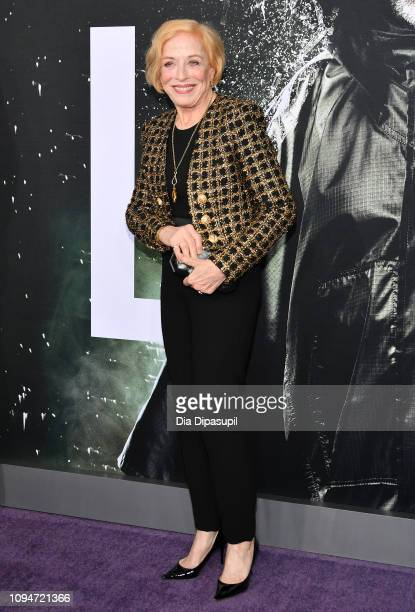 Holland Taylor attends the Glass NY Premiere at SVA Theater on January 15 2019 in New York City