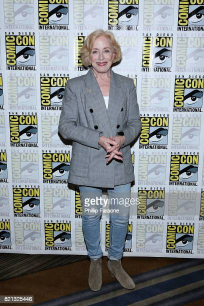 Holland Taylor attends the Stephen King Series 'Mr Mercedes' press line at ComicCon International 2017 on July 23 2017 in San Diego California