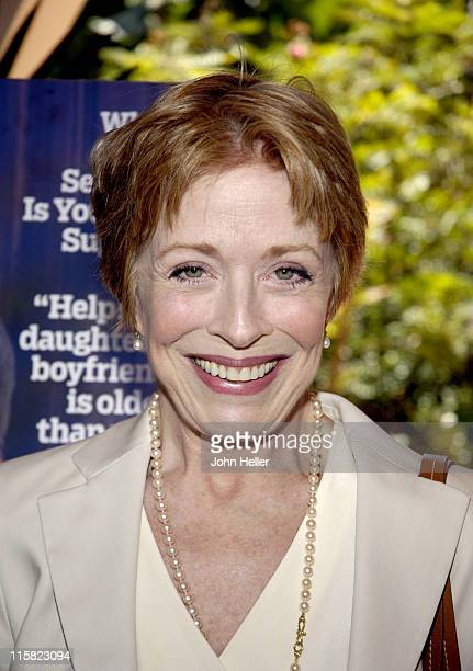 Holland Taylor during Liz Smith Dishes with AARP The Magazine and Hollywood's Hottest Bold Faced Names at Hotel Bel-Air in Bel Air, California,...
