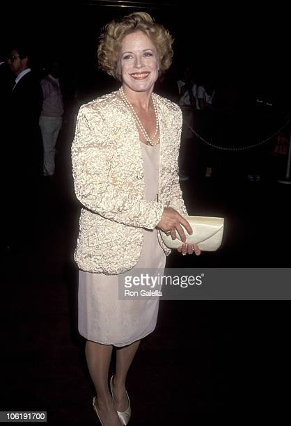 Holland Taylor during Pacific Center for HIV/AIDS Counseling Honors Angela Lansbury at Bonaventure Hotel in Los Angeles California United States