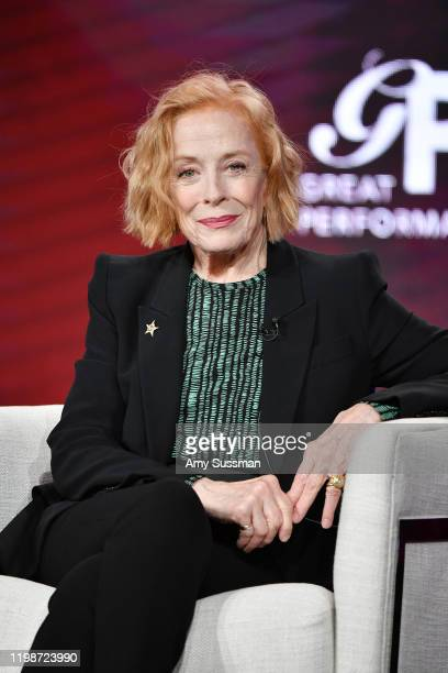 "Holland Taylor of great Performances ""Ann"" speaks during the PBS segment of the 2020 Winter TCA Press Tour at The Langham Huntington, Pasadena on..."