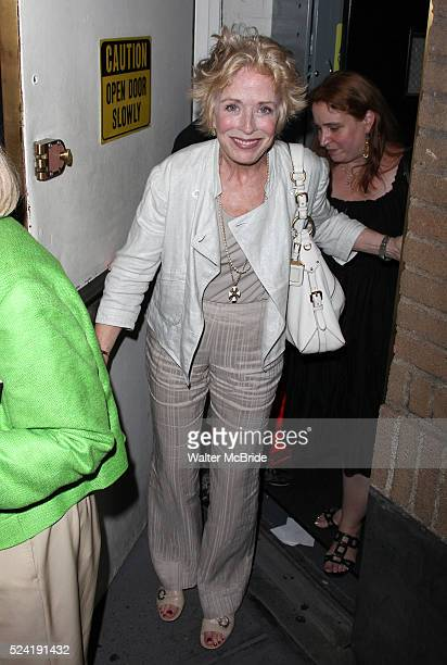 Holland Taylor Sighing Autographs at the Stage Door after the dedut performances of Bernadette Peters and Elaine Stritch in A Little Night Music...