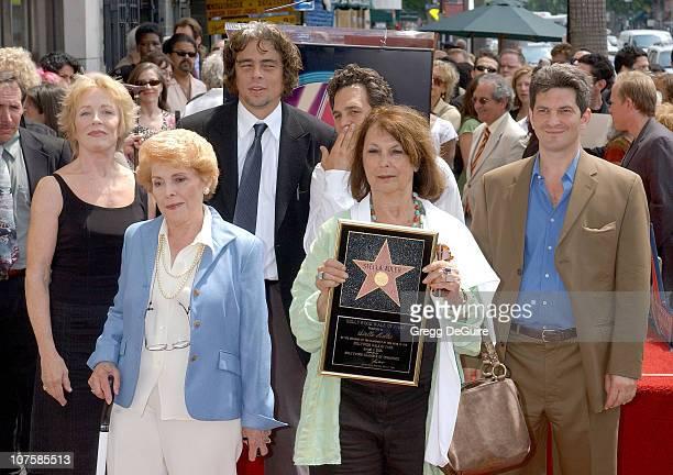 Holland Taylor Vicki Roberts Irene Gilbert Benicio Del Toro Mark Ruffalo Ellen Adler and Tom Oppenheim