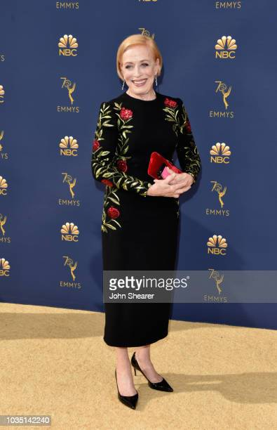 Holland Taylorattends the 70th Emmy Awards at Microsoft Theater on September 17 2018 in Los Angeles California