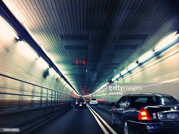 holland tunnel in new york, ny, usa - hudson river stock pictures, royalty-free photos & images