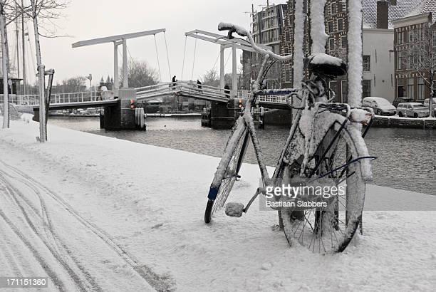 Holland winter scene