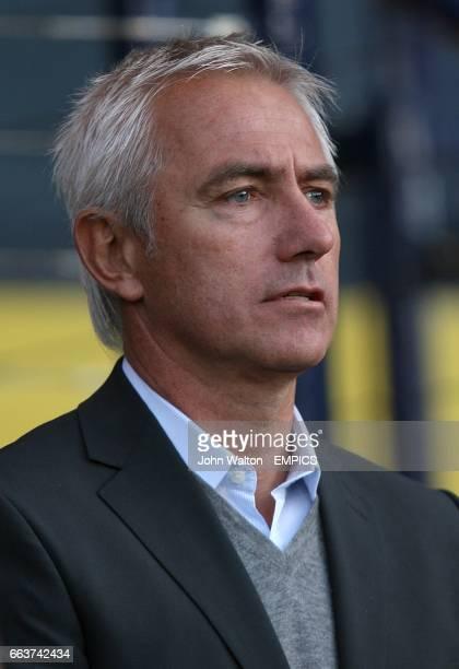 Holland's Head Coach Bert van Marwijk prior to kick off
