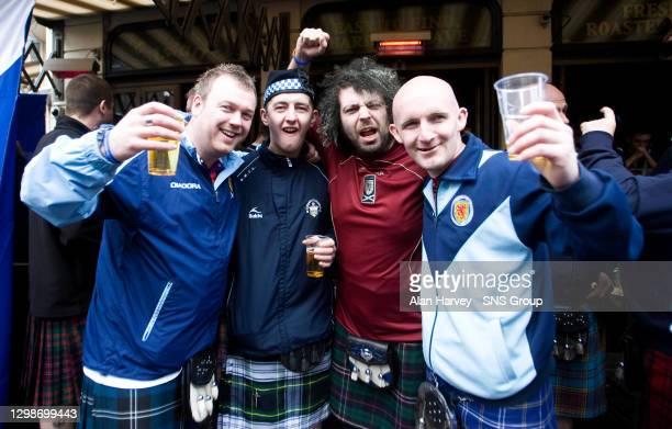 Scotland Fans in full voice