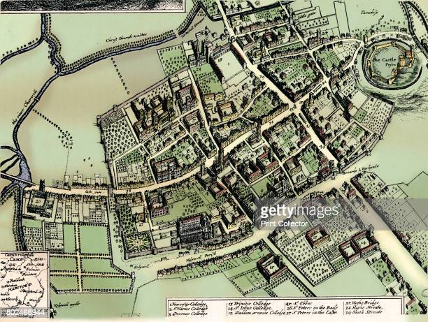 Hollar's plan of Oxford c1643 From The Connoisseur Volume XCII edited by F Gordon Roe [The Connoisseur Ltd London 1933] Artist Wenceslaus Hollar