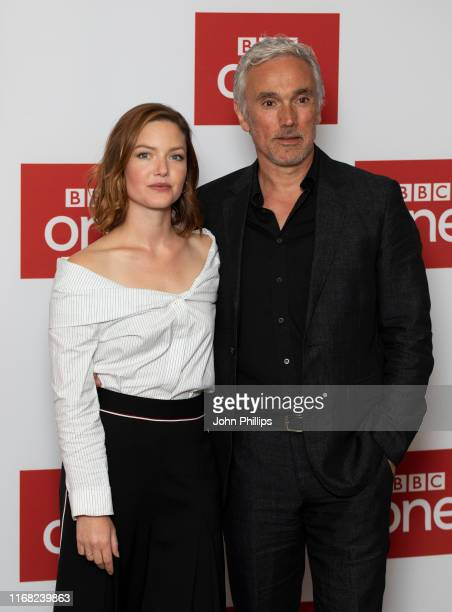 Holliday Grainger and Ben Miles attend The Capture Photocall at The Soho Hotel on August 15 2019 in London England