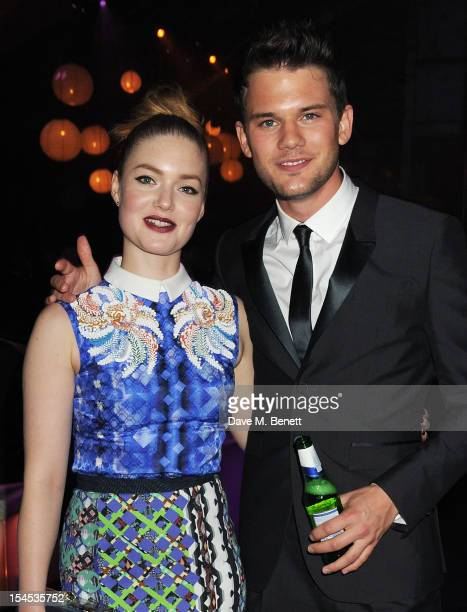 Holliday Grainger and Jeremy Irvine attend an after party following the Gala Premiere of 'Great Expectations' which closes the 56th BFI London Film...