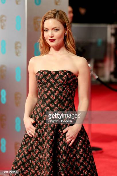 Holliday Grainger at the British Academy Film Awards 2017 at The Royal Albert Hall on February 12 2017 in London England