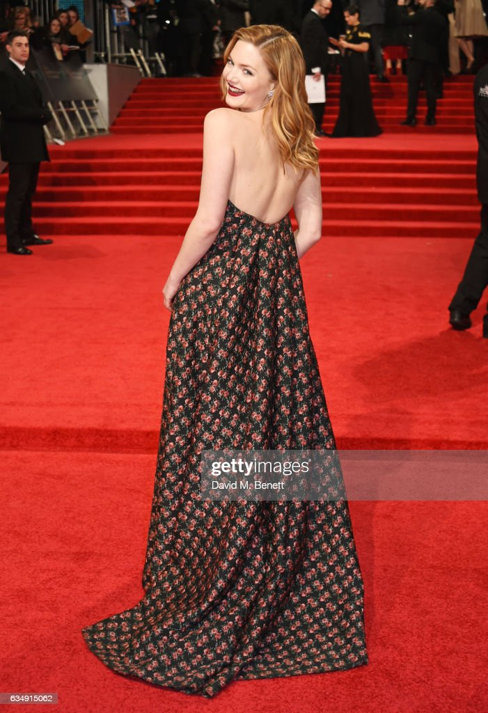 Holliday Grainger attends the 70th EE British Academy Film Awards (BAFTA) at Royal Albert Hall on February 12, 2017 in London, England.