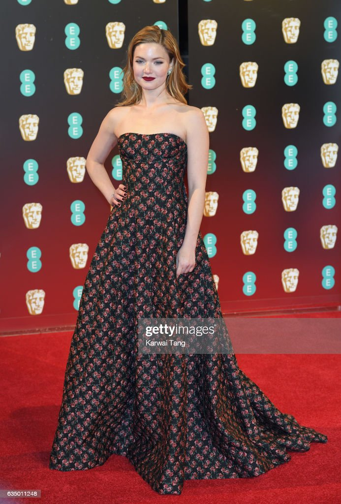 Holliday Grainger attends the 70th EE British Academy Film Awards (BAFTA) at the Royal Albert Hall on February 12, 2017 in London, England.