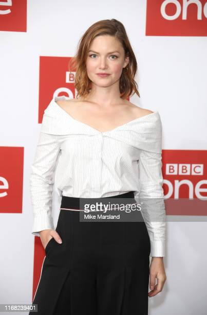 Holliday Grainger attends The Capture Photocall at The Soho Hotel on August 15 2019 in London England